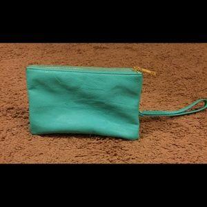 Handbags - Turquoise purse(clutch)